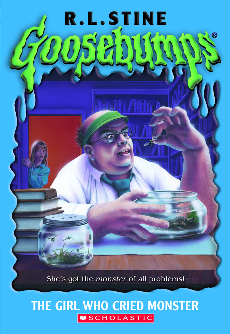 The Girl Who Cried Monster (Goosebumps, #8) by R.L. Stine